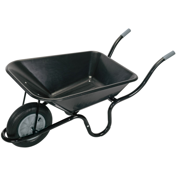 Draper Plastic Tray Wheelbarrow (85ltr)