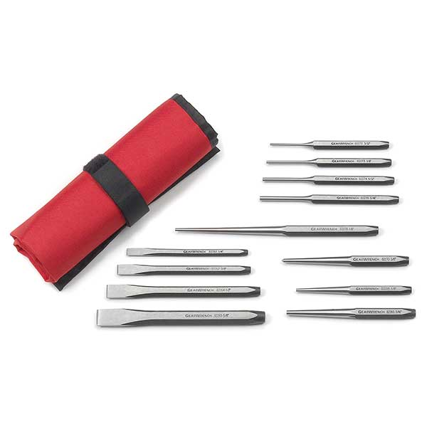 GearWrench 12pc Punch And Chisel Set (82305Uk)