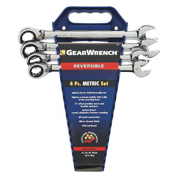 GearWrench 4Pc  Reversible Completer Set Metric (9601Puk)