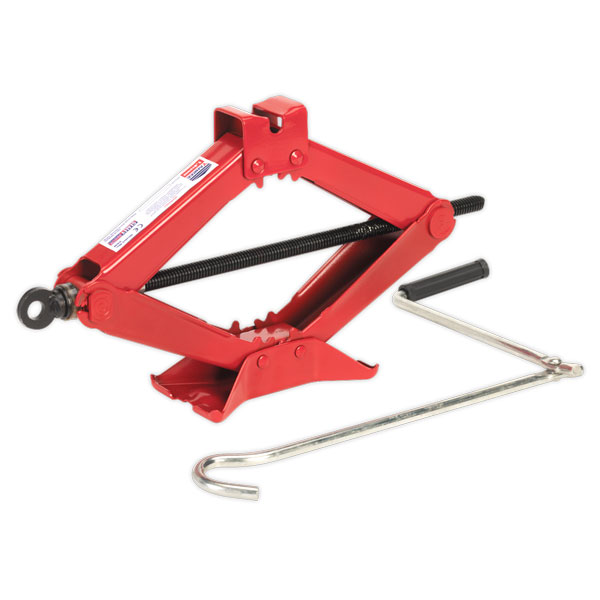 Sealey 58M Scissor Jack Heavy-Duty 1.5ton TUV/GS Approved