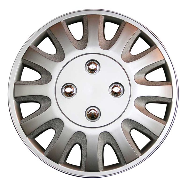 Top Tech Motion 13 Inch Wheel Trims Silver (Set of 4)
