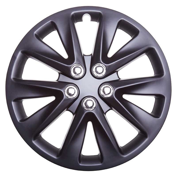 Top Tech Velocity 13 Inch Wheel Trims Matt Black (Set of 4)