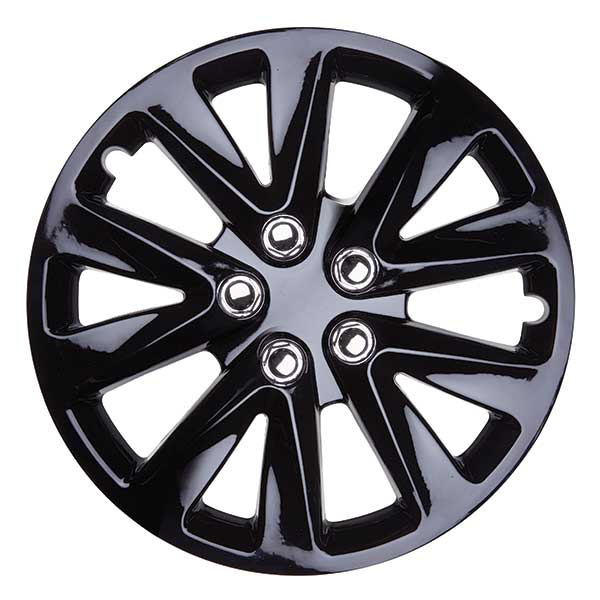 Top Tech Velocity 14 Inch Boxed Wheel Trim Gloss Black (Set of 4)