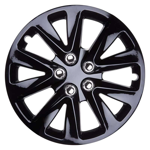 Top Tech Velocity 16 Inch Wheel Trims Gloss Black (Set of 4)