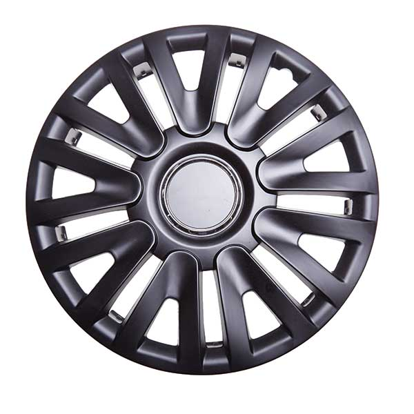 Top Tech Momentum 13 Inch Boxed Wheel Trim Matt Black (Set of 4)