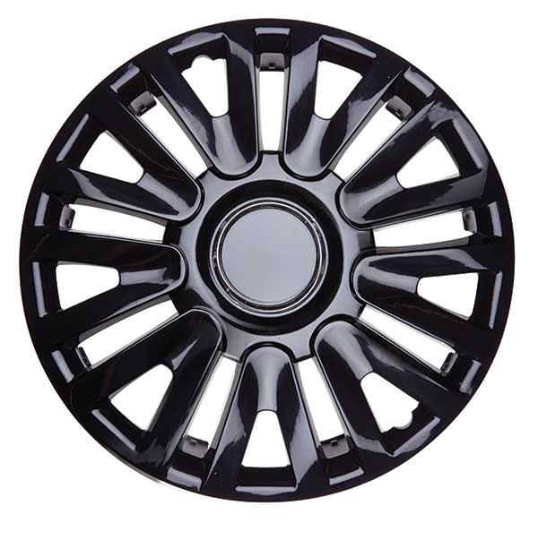 Top Tech Momentum 13 Inch Boxed Wheel Trim Gloss Black (Set of 4)