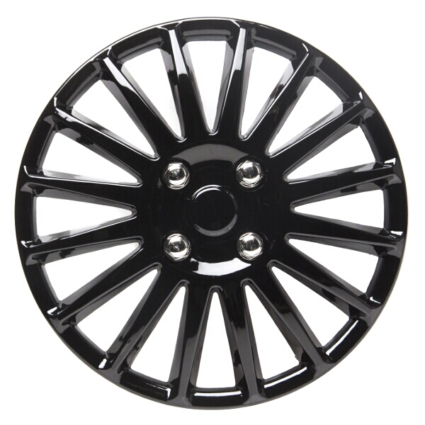 Top Tech Speed 16 Inch Wheel Trims Gloss Black (Set of 4)