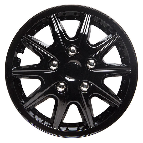 Top Tech Revolution 14 Inch Wheel Trims Gloss Black (Set of 4)