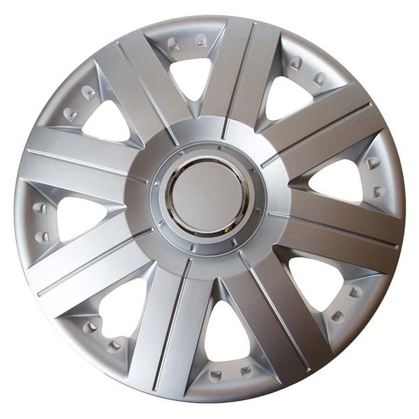 Top Tech Torque 15 Inch Wheel Trims Silver (Set of 4)