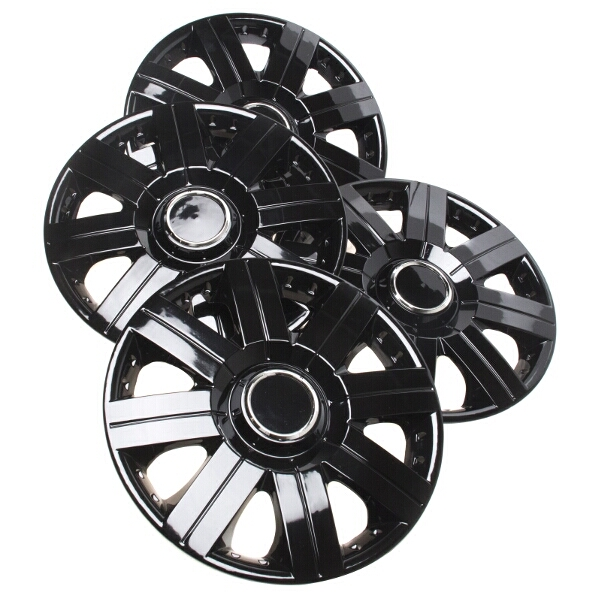 Top Tech Torque 15 Inch Wheel Trims Gloss Black (Set of 4)