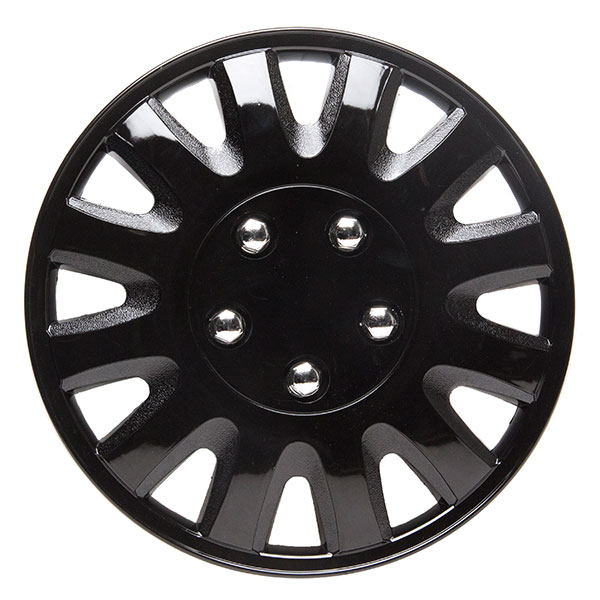 Top Tech Motion 14 Inch Wheel Trims Gloss Black (Set of 4)
