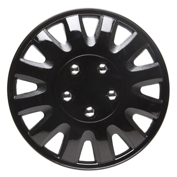 Top Tech Motion 15 Inch Wheel Trims Gloss Black (Set of 4)