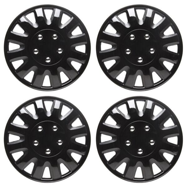 Top Tech Motion 16 Inch Wheel Trims Gloss Black (Set of 4)