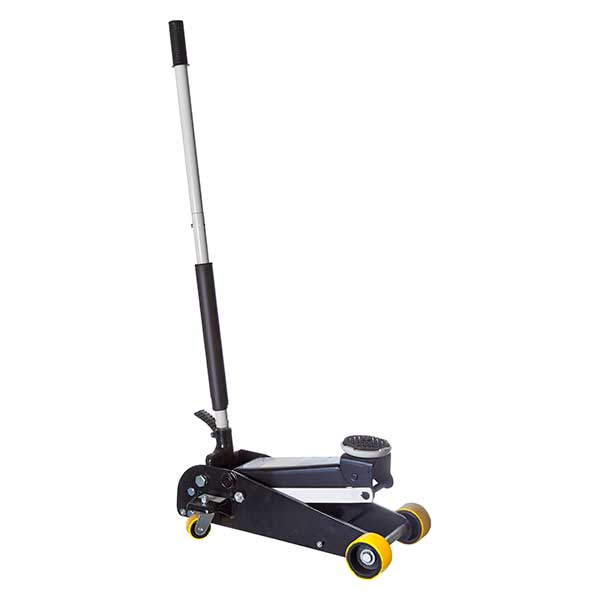 Omega 3 Ton Trolley Jack with Foot Pedal
