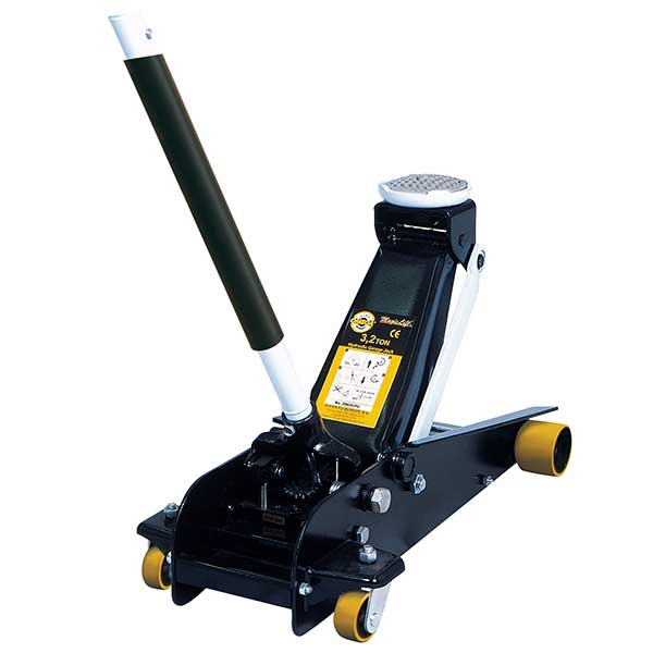 Omega 3.2Ton Trolley Jack with MagicLift