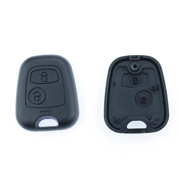 Aftermarket Key Fob Without Blade Peugeot 106, 107, 206, 207, 2 Button