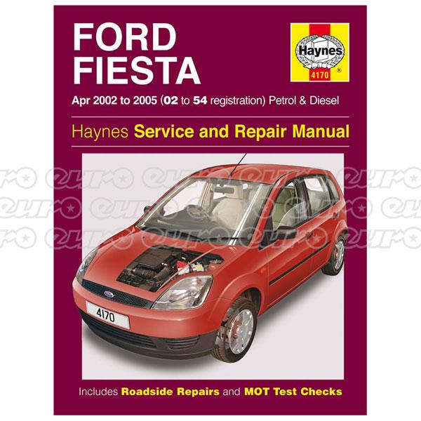 Haynes Workshop Manual Ford Fiesta Petrol Amp Diesel Apr 02 border=