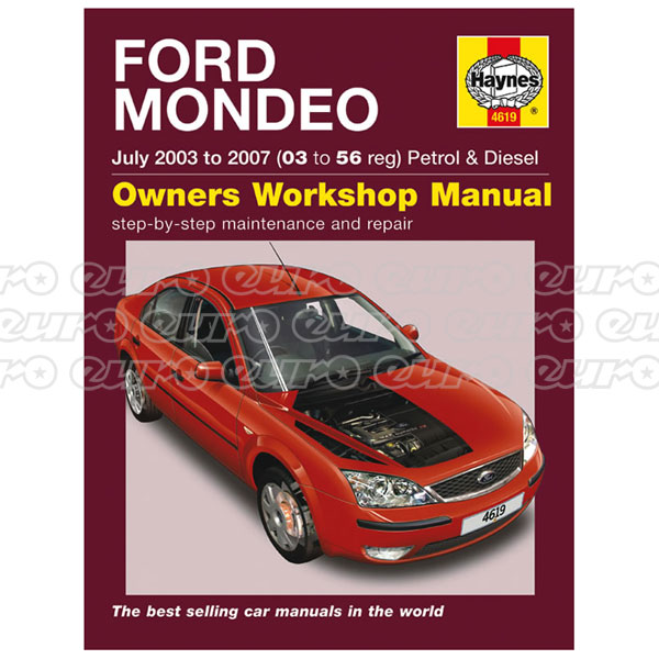 Haynes Workshop Manual Ford Mondeo Petrol & Diesel (July 03 - 07) 03 to 56