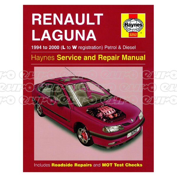 Haynes Workshop Manual Renault Laguna Petrol & Diesel (94 - 00) L to W