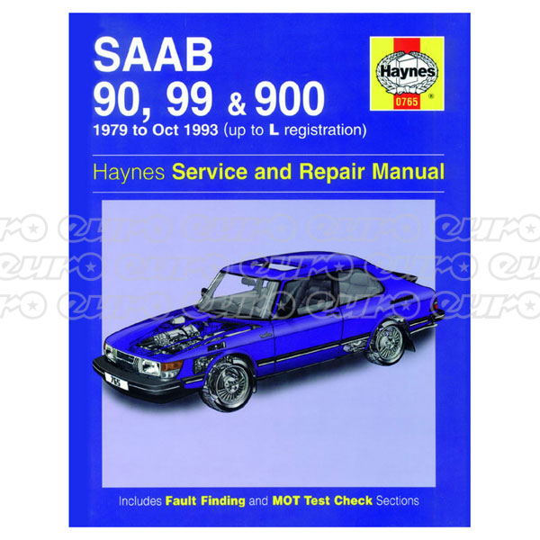 Haynes Workshop Manual Saab 90, 99 & 900 (79 - Oct 93) up to L