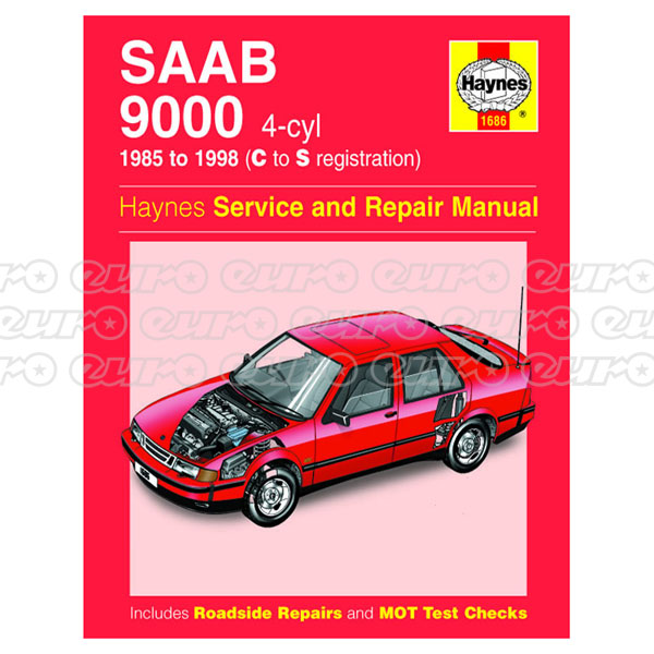 Haynes Workshop Manual Saab 9000 (4-cyl) (85 - 98) C to S