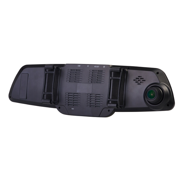 RAC RAC03 GPS Super HD Dash Camera Rear View Mirror Combo