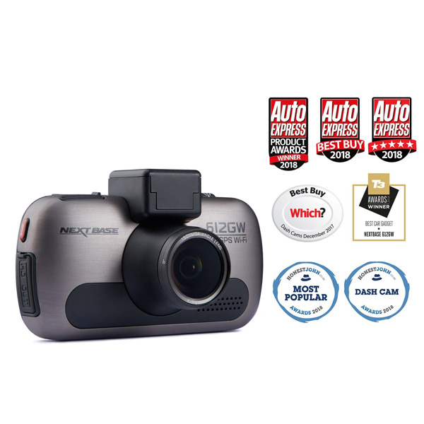 Nextbase 612gw Dash Cam Ultra Hd 4k Euro Car Parts