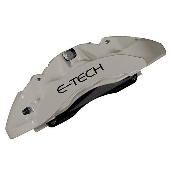 E-TECH E-TECH Silver Caliper Paint Kit