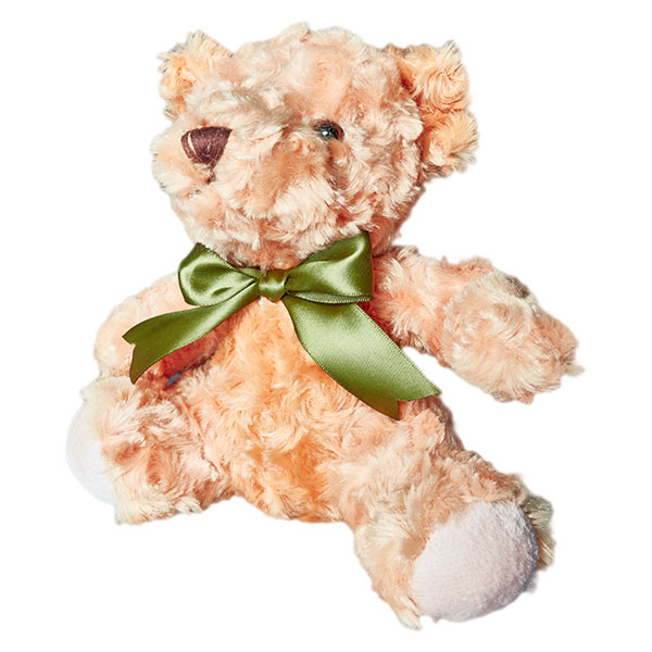 Soft Teddy Bear with Ribbon