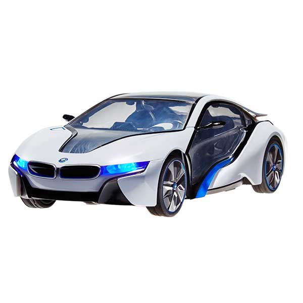 RC BMW i8 & Helicopter Set