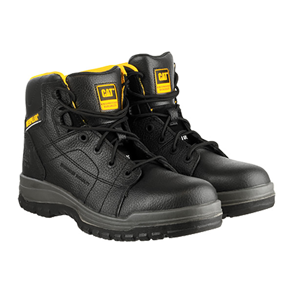 Safety Shoes Dimen Hi Blk Size 8