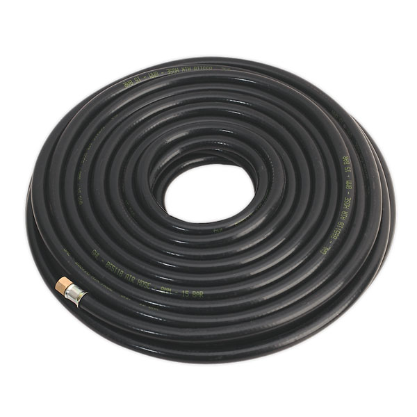 "Sealey AH20RX Air Hose 20mtr x 8mm with 1/4""BSP Unions Heavy-Duty"