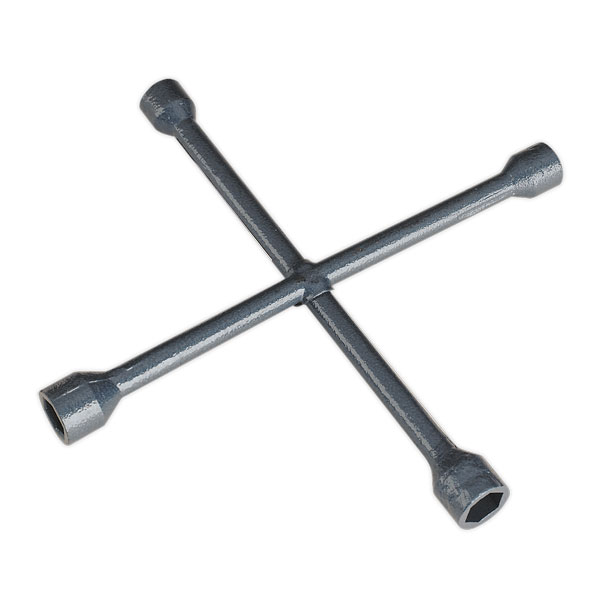 Sealey AK2090 Lug Wrench 4-Way 17, 19, 21, 22mm