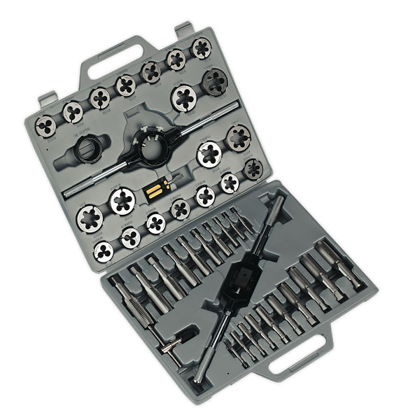 Sealey AK303 Tap & Die Set 45pc Metric