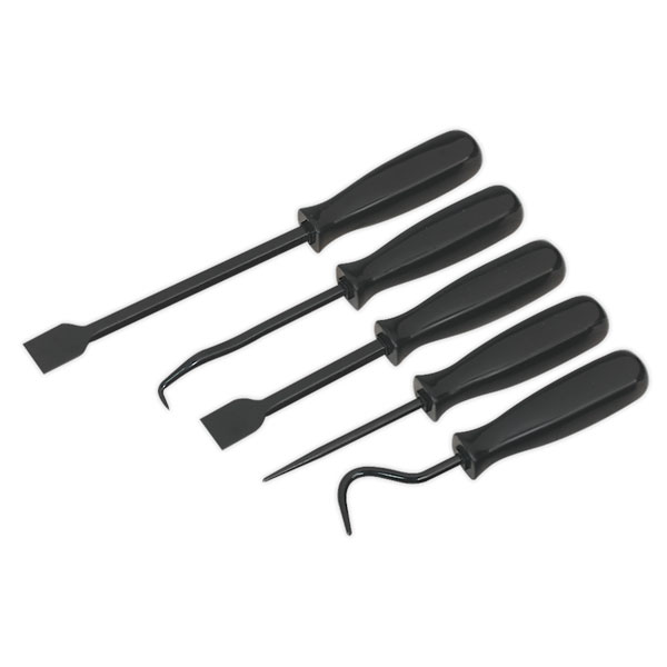 Sealey AK520 Scraper & Hook Set 5pc