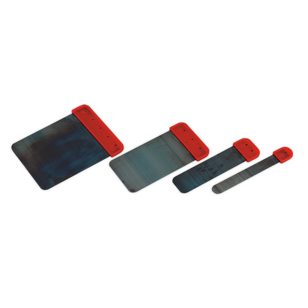 Sealey AK5224 Auto Body Filler Applicator Set 4pc