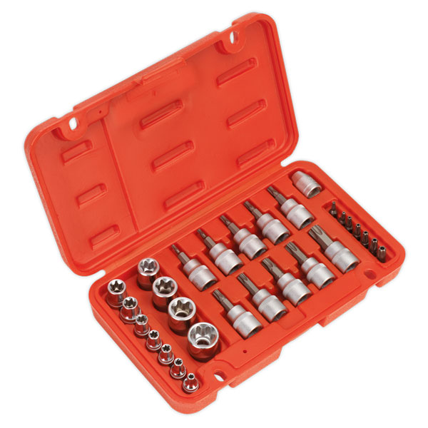 Sealey AK6193 TRX-Star Socket & Security Bit Set 29pc