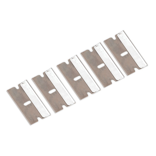 Sealey AK867/1 Razor Scraper Blade Pack of 5