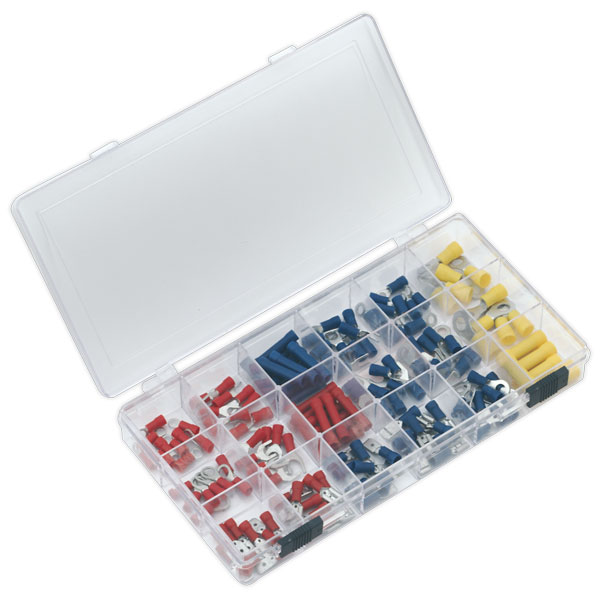 Sealey AK8805 Assorted Terminal Set 150pc