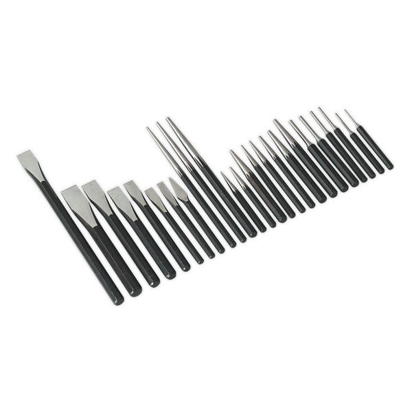 Sealey AK9298 Punch & Chisel Set 25pc