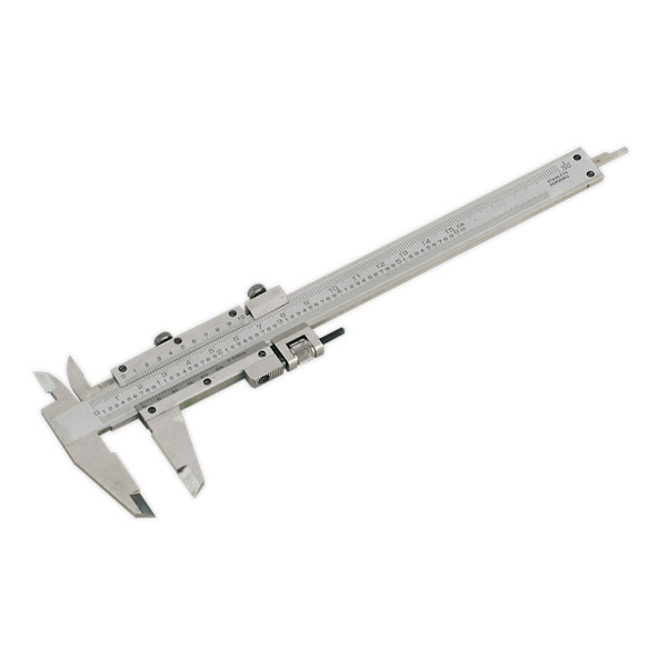 "Sealey AK962 Vernier Caliper 150mm(6"") (0.02mm - 1/1000"" Acc)"