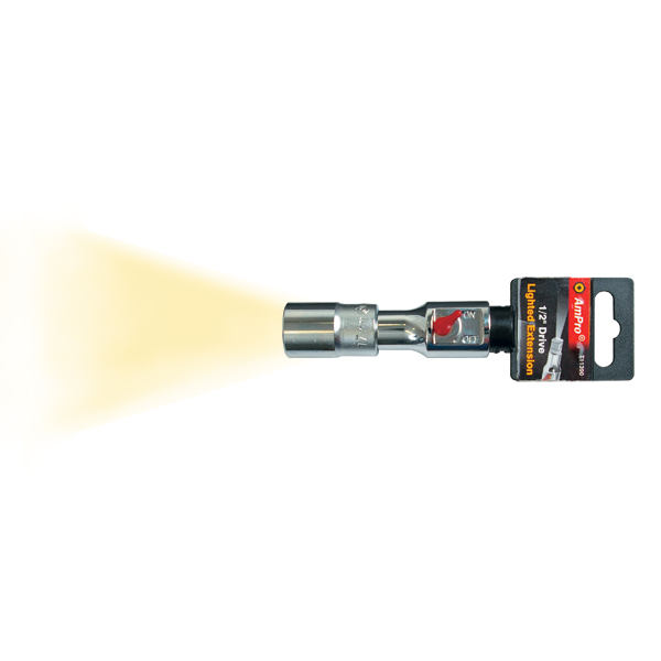 Ampro Lighted Extension For 1/2 Sockets