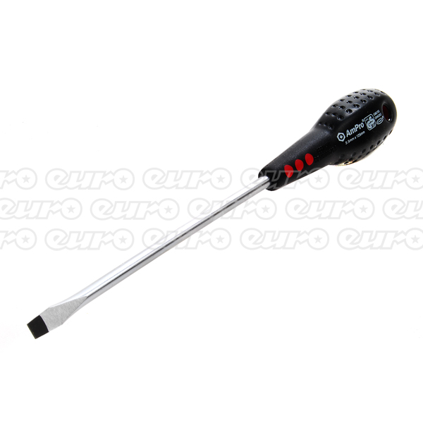 Ampro Slotted Screwdriver 5.5 mm x 125 mm