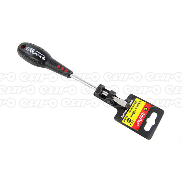 Ampro Slotted Screwdriver 6.5 mm x 100 mm