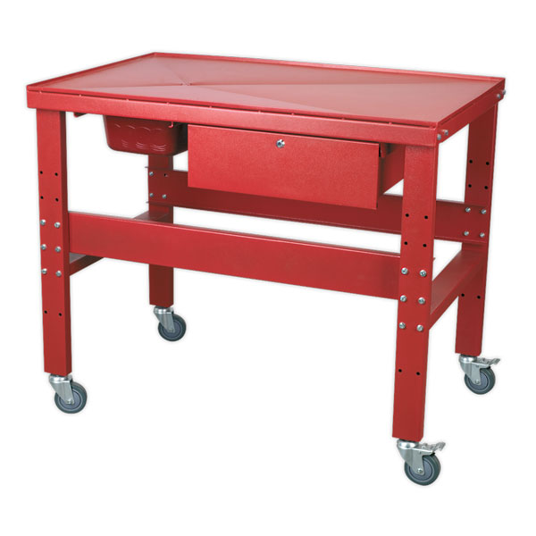 Sealey AP1200M Mobile Workbench with Oil Drain