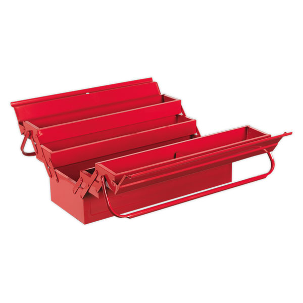 Sealey AP521 Cantilever Toolbox 4 Tray 530mm