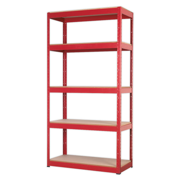 Sealey AP6350 Racking Unit with 5 Shelves 350kg Capacity Per Level