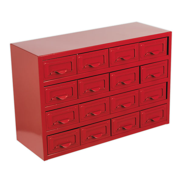 Sealey APDC16 Metal Cabinet Box 16 Drawer