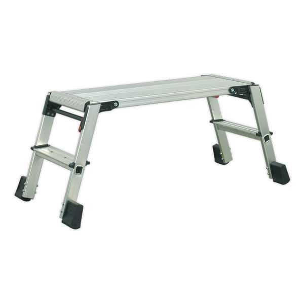 Sealey APS2 Aluminium Folding Platform 2-Tread