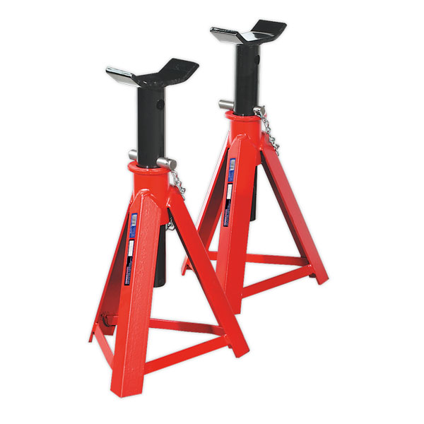 Sealey AS7500 Axle Stands 7.5ton Capacity per Stand 15ton per Pair Medium